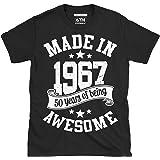 fabriqué en 1967 50 Years of etant EXCELLENT T shirt