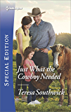 Just What the Cowboy Needed (The Bachelors of Blackwater Lake)