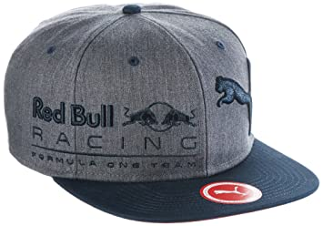 Puma – Gorra Ajustable de Red Bull Racing, Unisex, Mütze RBR New Block Snapback, Gris Medio, Adulto: Amazon.es: Deportes y aire libre