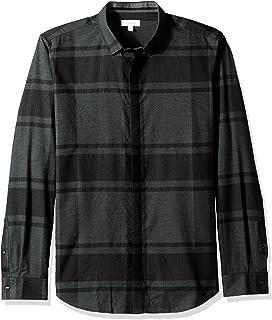 Capable Calvin Klein Shirt Dress Shirts Men's Clothing Size 38 Choice Materials
