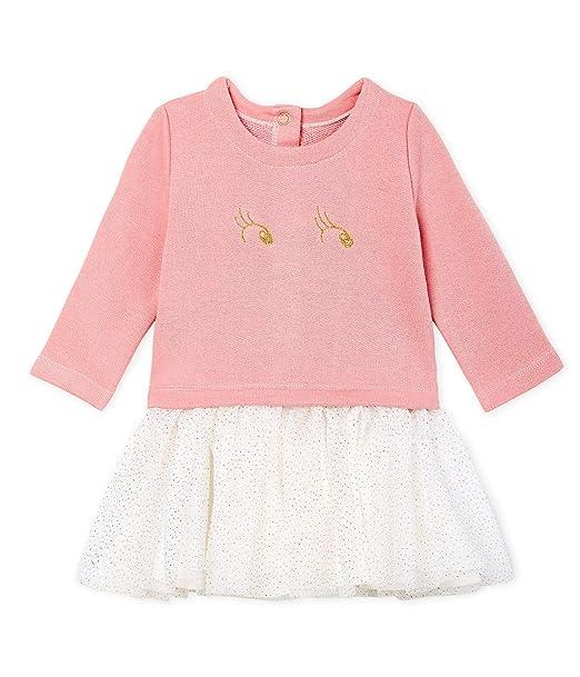 diseño de calidad 356fa 0838c Petit Bateau Vestido para Bebés: Amazon.es: Ropa y accesorios