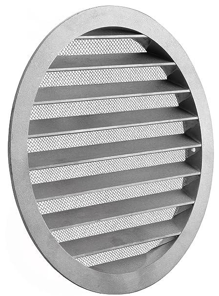 Rejilla de ventilación Wick Elf ALZ Tubo Canalizado rejilla aluminio antinsectos redondo rejilla