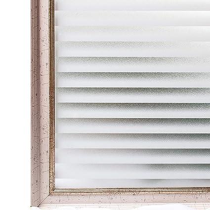 Wondrous Cottoncolors No Glue Frosted Window Film 3D Static Decorative Privacy Glass Films For Kitchen Office Bathroom Anti Uv Heat Control 3Ftx6 5Ft 90Cm Interior Design Ideas Tzicisoteloinfo