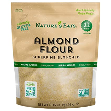 Amazon.com : Nature's Eats Blanched Almond Flour, 48 Ounce : Grocery &  Gourmet Food