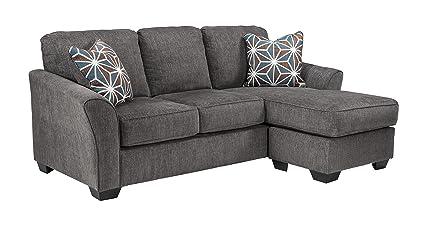 Amazon.com: Benchcraft - Brise Contemporary Sofa Chaise Sleeper ...