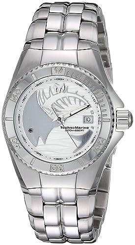 TechnoMarine TM-115199 - Reloj de pulsera Mujer, acero inoxidable, color Plata: Amazon.es: Relojes