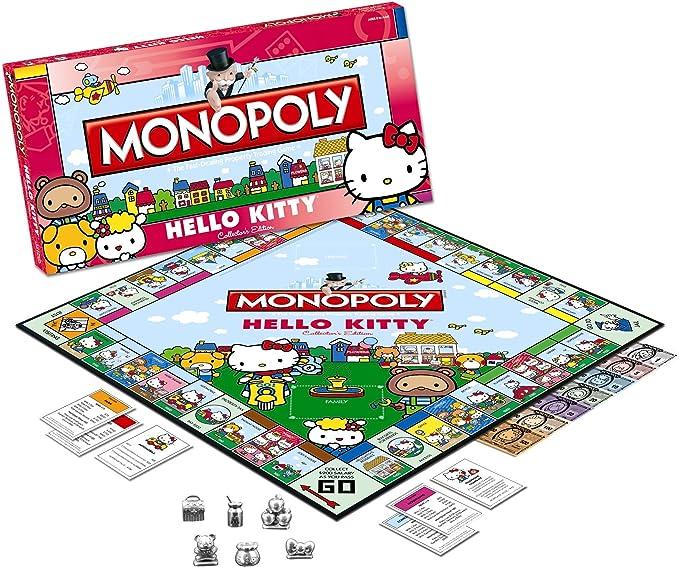 Hello Kitty Juego de Mesa Monopoly: Amazon.es: Juguetes y juegos