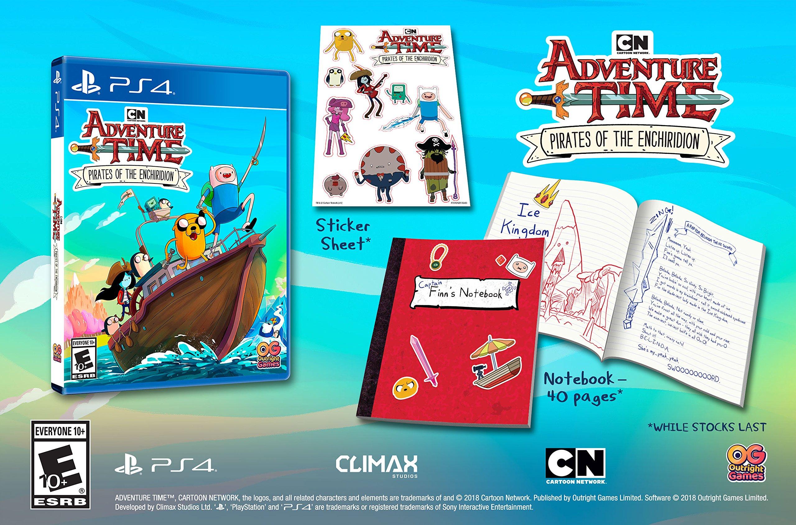 Amazon com: Adventure Time: Pirates of the Enchiridion - Nintendo