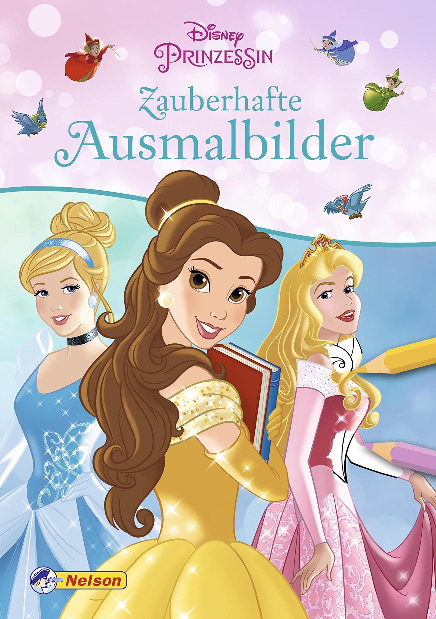 Disney Prinzessin Zauberhafte Ausmalbilder Amazonde Bücher