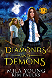 Diamonds and Demons: Supernatural Academy Reverse Harem (Beautiful Beasts Academy Book 2) (English Edition)