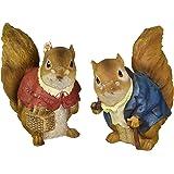 Design Toscano Grandparent Squirrel Statues