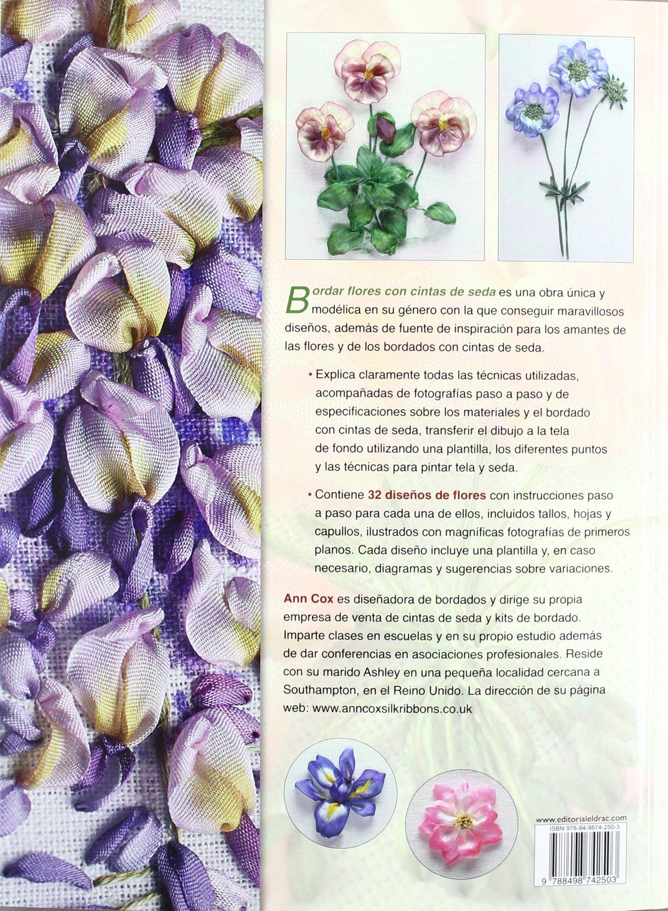 Bordar flores con cintas de seda / A-Z of Silk ribbons flowers: 32 ...