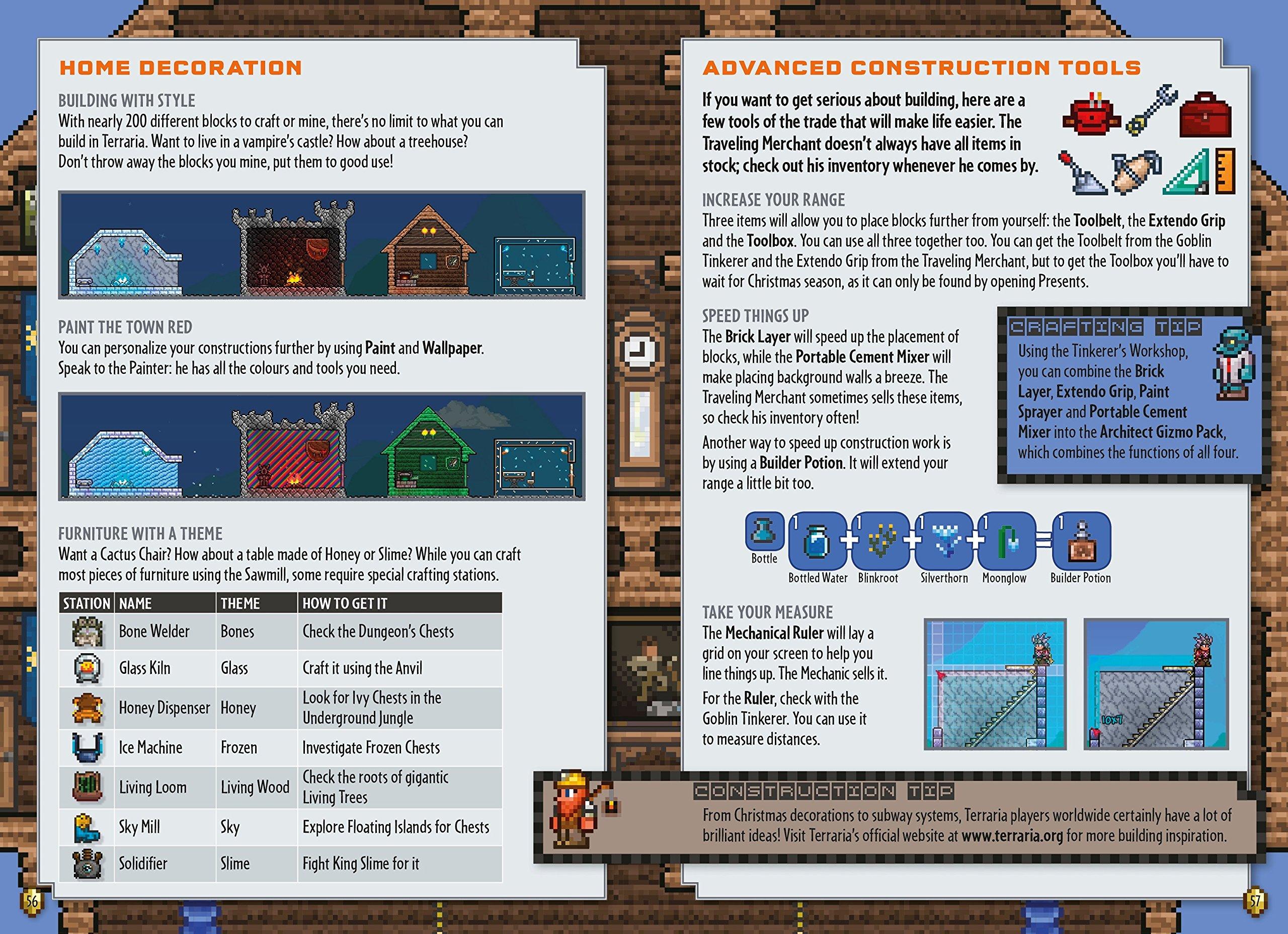 Terraria: The Ultimate Survival Handbook: NA: 9780141369891: Amazon ...