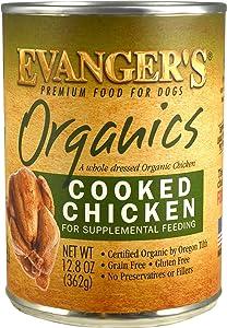 Evanger's Organics Dinner for Dogs - 12, 12.5 oz cans