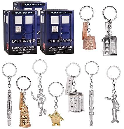 Caja ciega de misterio con llavero de Doctor Who, paquete de ...