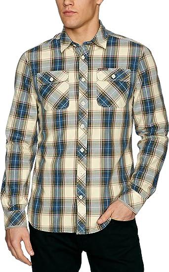 Pepe Jeans Saint - Camisa para Hombre, Talla 37/38, Color ...