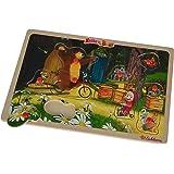 Eichhorn - 109304083 - Masha Puzzle - Personnages En Bois - 55 Pièces