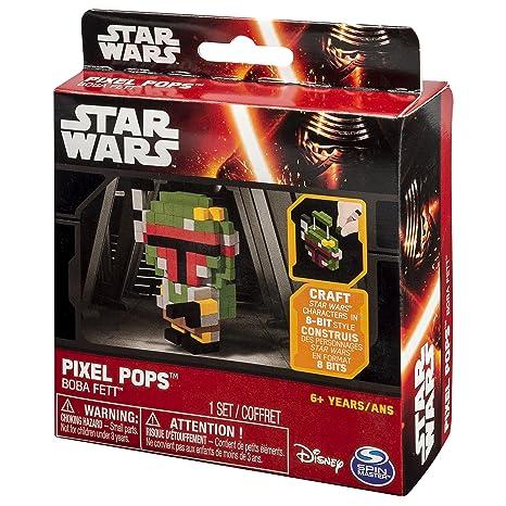 Amazon Com Star Wars Pixel Pops Boba Fett Toys Games