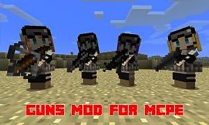 Mods : Guns Mod for MCPE from Guns Mod Company