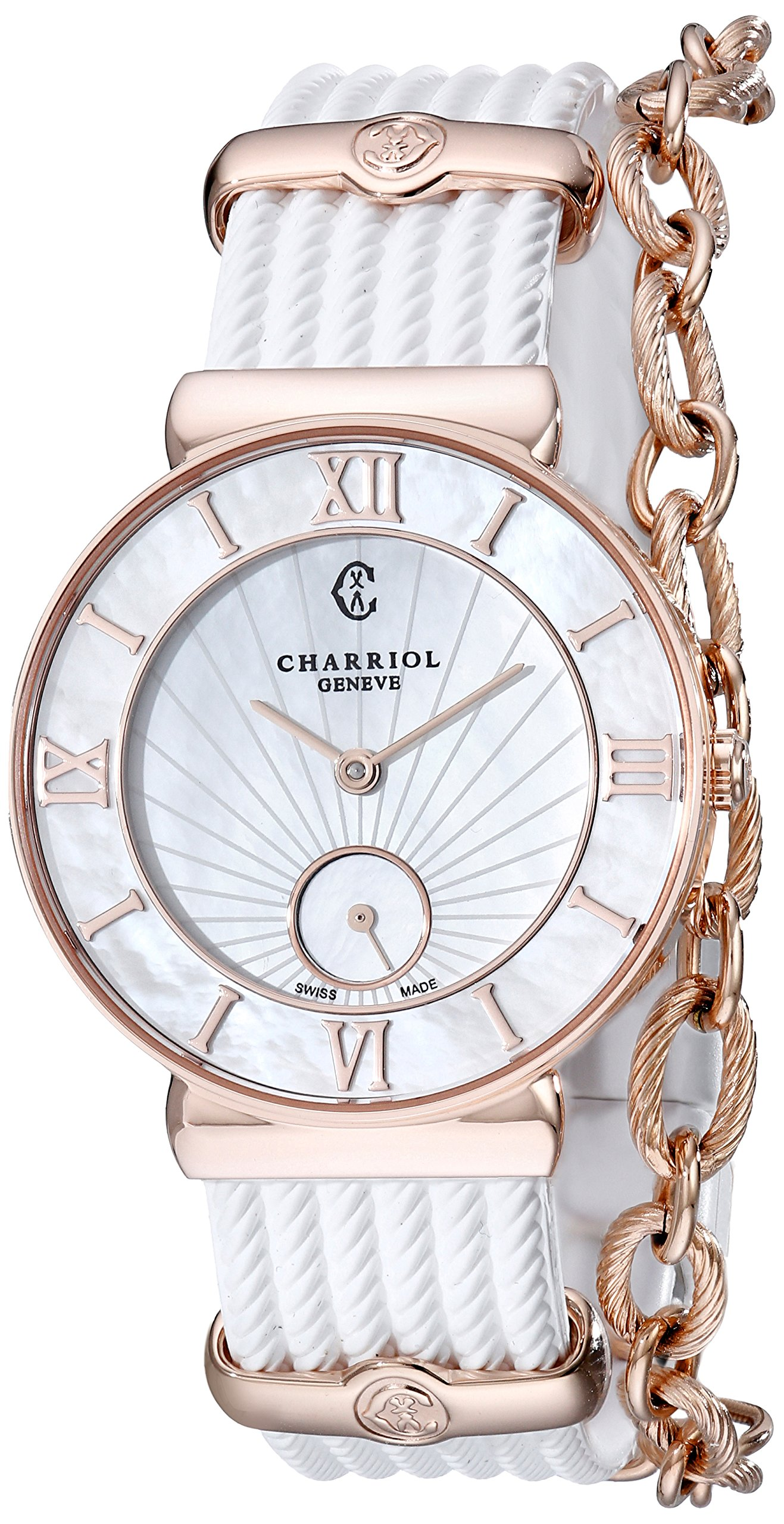 Charriol St-Tropez Infinite Summer Ladies Mother-of-Pearl Dial Watch ST30PI.174.010
