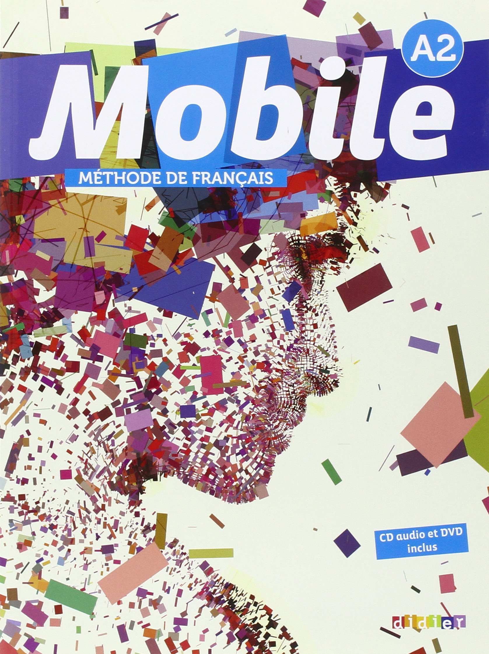 Mobile A2 Methode De Francais Livre Cd Audio Dvd French