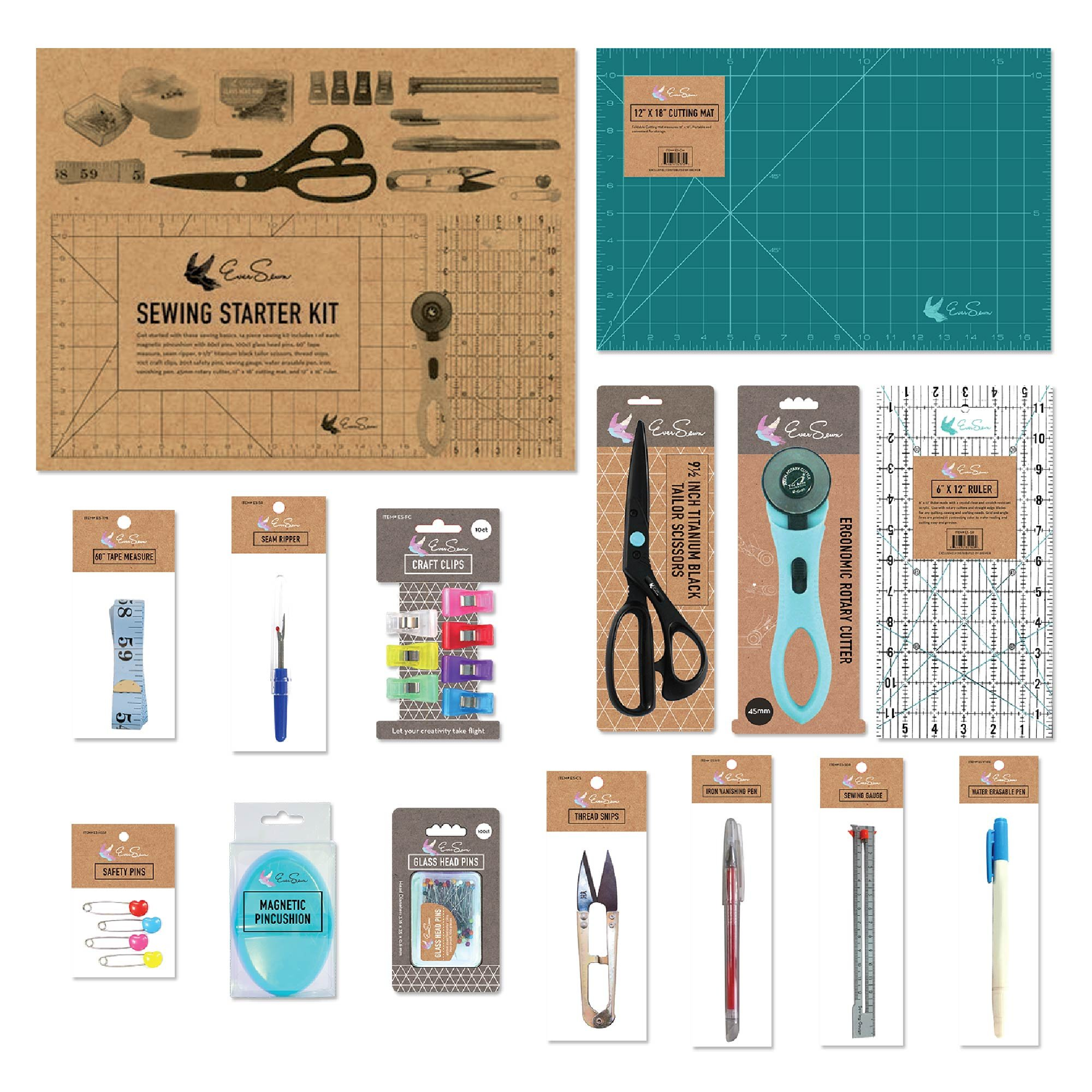 EverSewn Ultimate Sewing Starter Kit by Ever Sewn