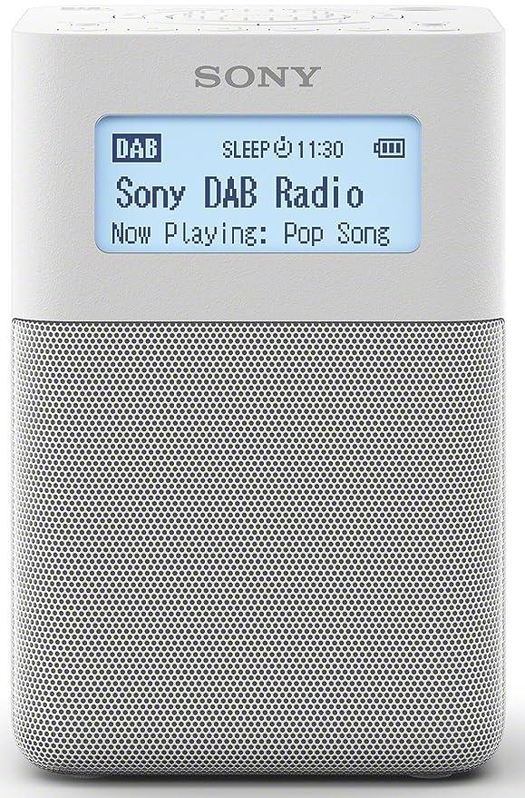8 opinioni per Sony XDR-V20D radiosveglia digitale portatile, con DAB,FM, 87.5- 108 MHz,