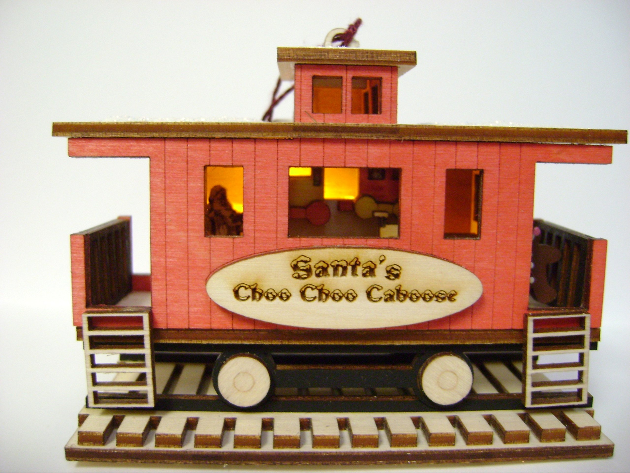 Ginger Cottages - Santa's Choo Choo Caboose GC133