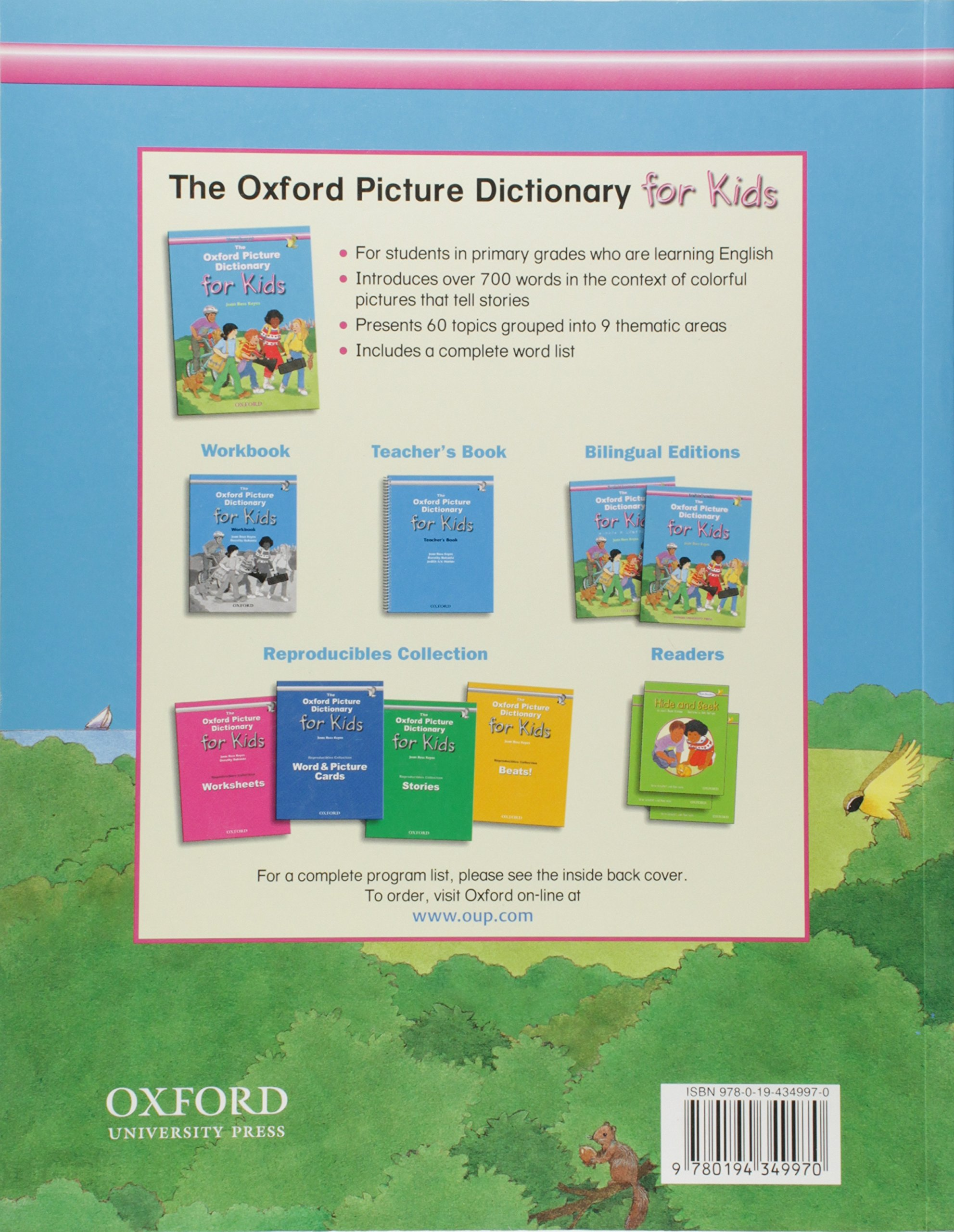 The Oxford Picture Dictionary for Kids (Monolingual English Edition)