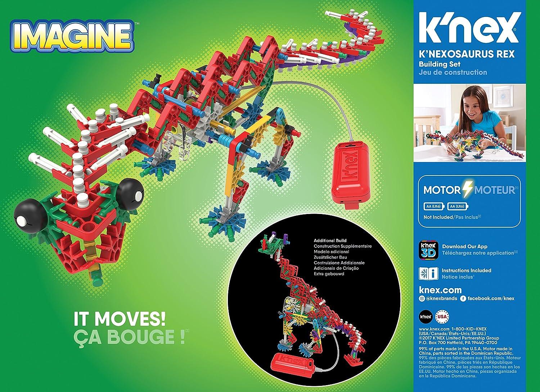 KNEXosaurus Rex Building Set Ages 7+ Engineering Educational Toy K/'NEX Beasts Alive 255 Pieces