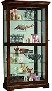 Amazon.com: Howard Miller 680-205 Berkshire Curio Cabinet by ...
