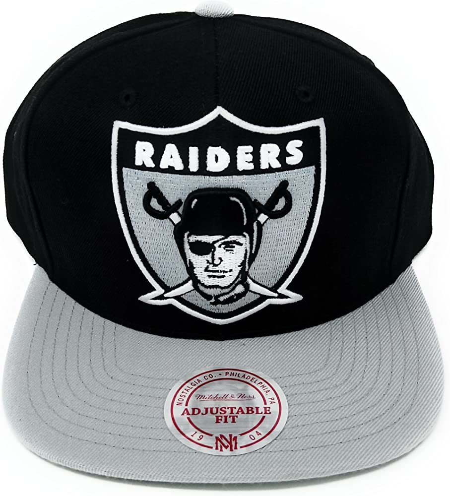 Mitchell & Ness – Gorra Hombre Oakland Raiders XL 2 tono gorra ...