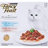 Fancy Feast Inspirations Tuna & Beef Multipack, 24x70g