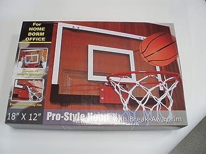 Mini canasta interior de baloncesto: Amazon.es: Deportes y aire libre