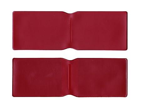 1 x Borgoña plástico Tarjeta Oyster Tipo Cartera/Cartera de ...