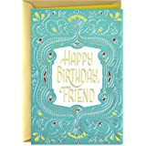 Hallmark Golden Thread Birthday Card for Friend (Celebrating You)