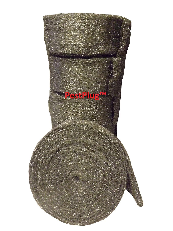 Fall von pestplug 10,2 cm X 25 \'lang, 100% Edelstahl Wolle (5 Rollen ...