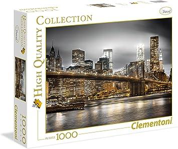 Clementoni - Puzzle de 1000 Piezas New York Skyline (39366 ...