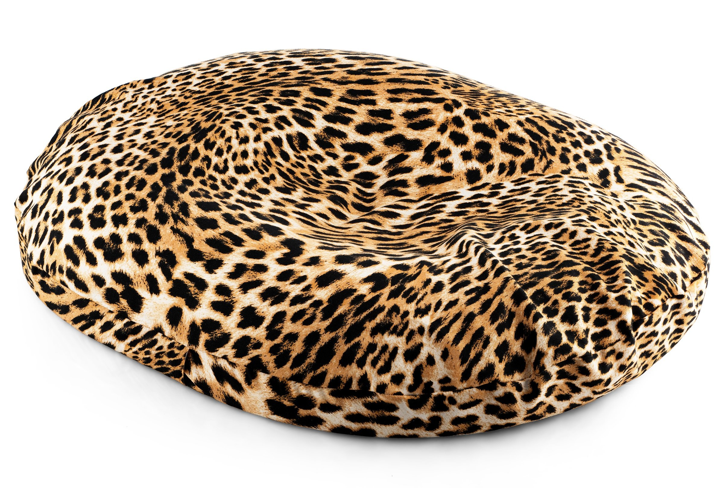 BodyHealt Donut Seat Ring Cushion Comfort Pillow for Hemorrhoids, Coccyx, Prostate, Pregnancy, Post Natal Pain Relief, Surgery (Leopard, 18 Inch)