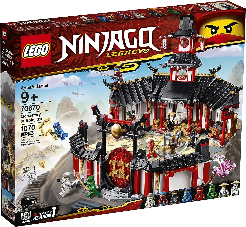 Amazon.com: LEGO Ninjago Legacy Monasterio de Spinjitzu ...