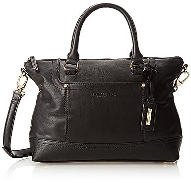 38497747fbf Tignanello Smooth Operator Convertible Satchel, Black Black, One Size