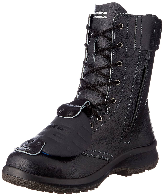 [ミドリ安全] 安全靴 JIS規格 長編上靴 プレミアムコンフォート PRM230F 甲プロMII B0761KP5GH ブラック 25.0 cm 3E
