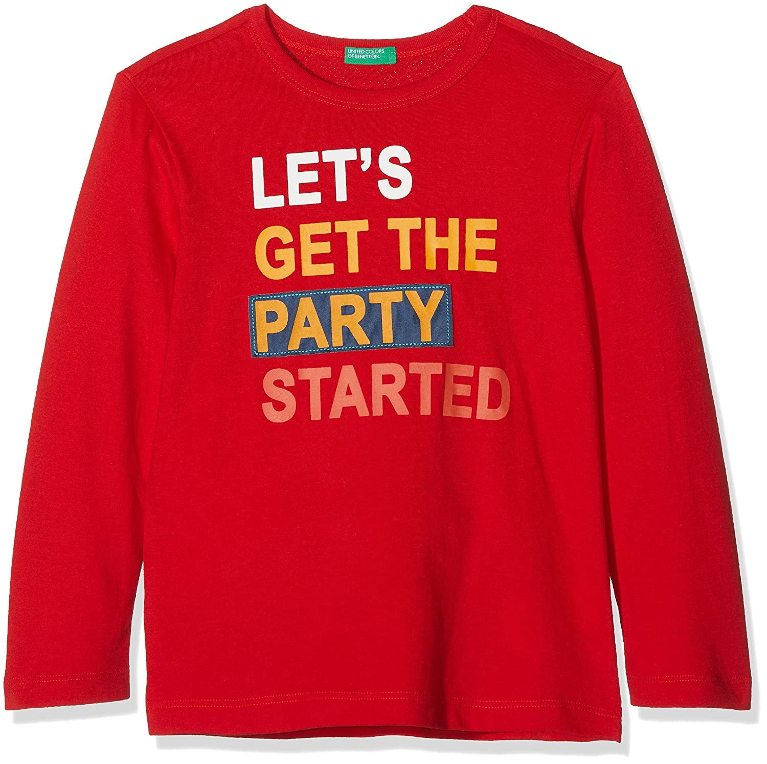 United Colors of Benetton T-Shirt L/S, Camiseta para Niños: Amazon.es: Ropa y accesorios