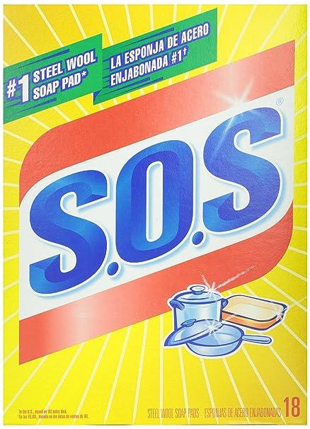 S.O.S 98018 Sos Pads 18Ct