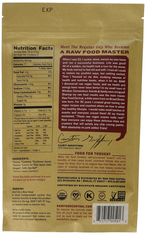 Amazon.com: Raw Food Central Curt\'s Classic Onion Rings 100% Organic ...