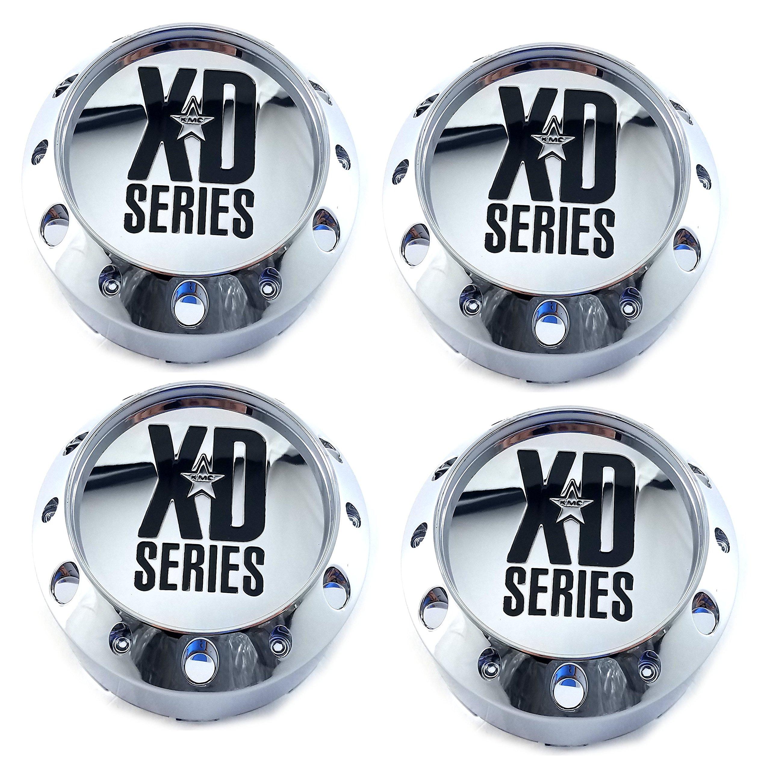 KMC-XD-Series-Set-4pcs-XD-Series-Chrome-Center-Cap-464K106-Snap-in-KMC-XD779-XD786-XD795