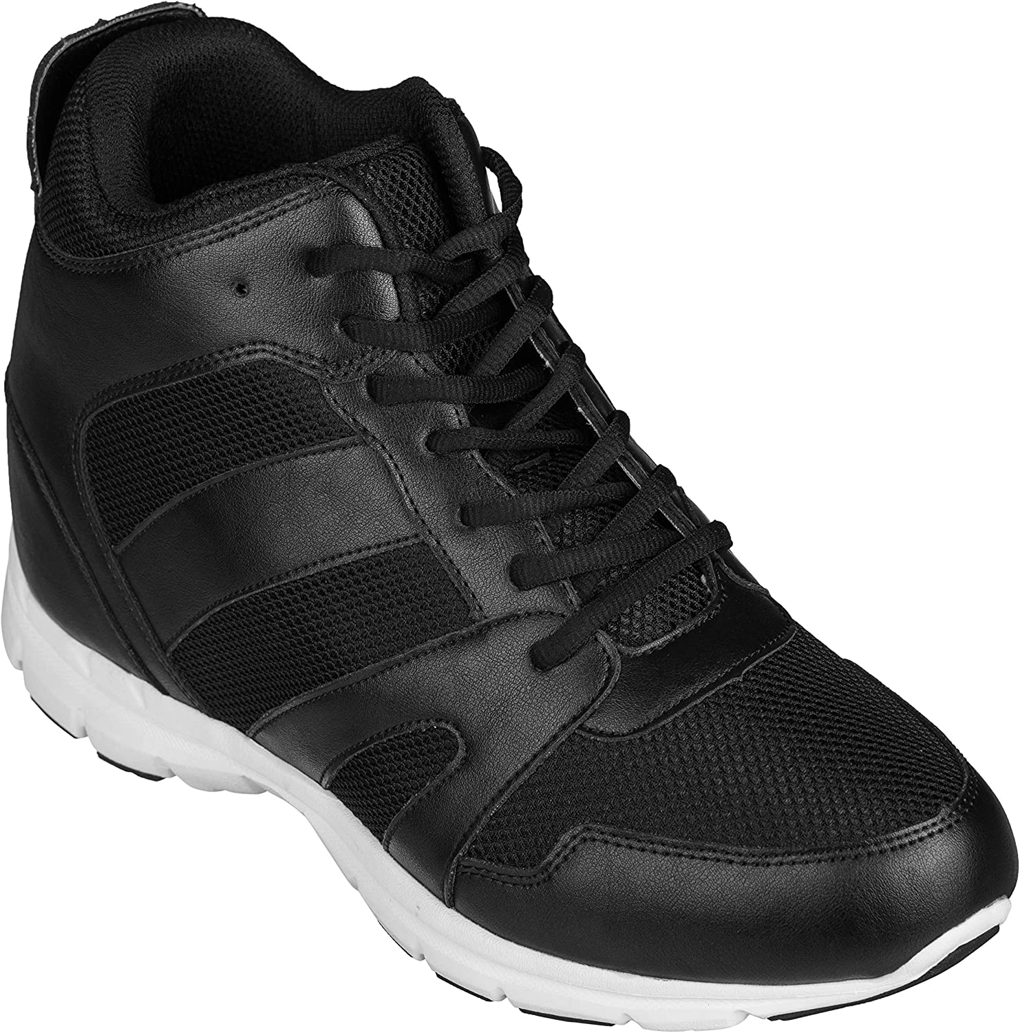 8cm Taller Height Increasing Shoes FSTL Elevator Trainers