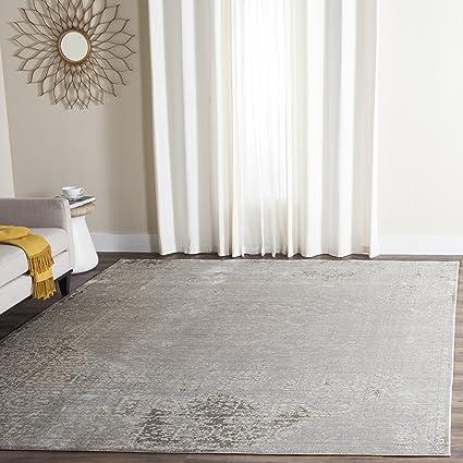 Amazon.com: Safavieh Valencia Collection VAL205C Grey and ...