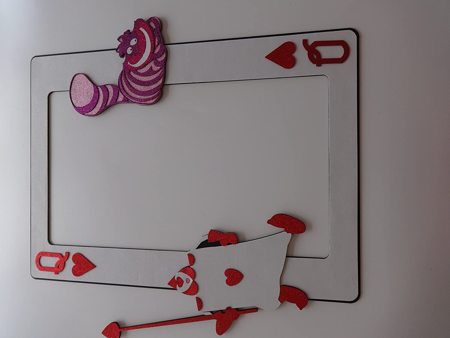 Amazon.com: 1 Pc Photo Booth Party Props Frame Alice in Wonderland ...