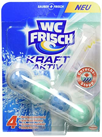 WC Frisch Kraft-Aktiv Geruchs-Stopp, 10er Pack (10 x 50 g): Amazon ...